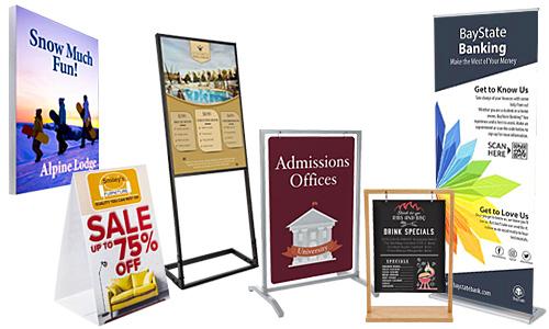 custom sign displays
