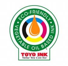 Toyo ink vegetable oil logo
